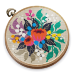 Cross Stitch Club Color by Numbers with a Hoop 1.4.19 MOD Unlimited Money