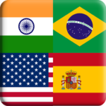 Flags Quiz Gallery Quiz flags name and color Flag 1.0.176 APK MOD Unlimited Money