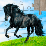 Horse Jigsaw Puzzles Game – For Kids Adults 25.1 APK MOD Unlimited Money