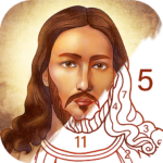 Bible Coloring – Paint by Number Free Bible Games 2.13.2 APK MOD Unlimited Money