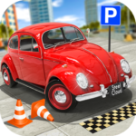 Classic Car Parking Real Driving Test 1.7.9 APK MOD Unlimited Money