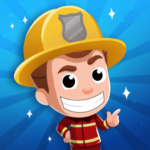 Idle Firefighter Tycoon – Fire Emergency Manager 0.3 APK MOD Unlimited Money
