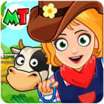My Town Farm Life Animals Game for Kids Free 1.06 APK MOD Unlimited Money