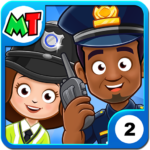 My Town Police Station. Policeman Game for Kids APK MOD Unlimited Money