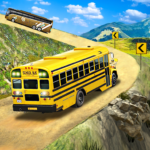 Offroad School Bus Driving Flying Bus Games 2020 1.38 APK MOD Unlimited Money