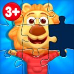 Puzzle Kids – Animals Shapes and Jigsaw Puzzles 1.4.1 APK MOD Unlimited Money