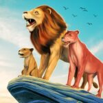 The Lion Simulator Animal Family Game APK MOD Unlimited Money