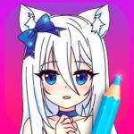 Anime Manga Coloring Pages with Animated Effects APK MOD Unlimited Money