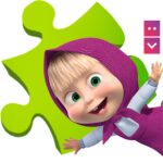 Masha and The Bear Puzzle Game 2.7 APK MOD Unlimited Money