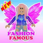 Fashion Famous Frenzy Dress Up Runway Show obby APK MOD Unlimited Money