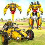 Flying Ghost Robot Car Game APK MOD Unlimited Money