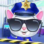 Kitty Cat Police Fun Care Thief Arrest Game APK MOD Unlimited Money