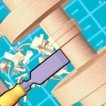 Wood Turning Cut And Paint APK MOD Unlimited Money