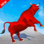 Angry Wild Bull Racing Game APK MOD Unlimited Money