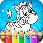Coloring pages for children animals APK MOD Unlimited Money