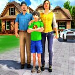 Happy Family Life Dad Mom – Virtual Housewife Care APK MOD Unlimited Money